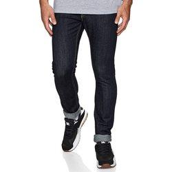 Υφασμάτινα Άνδρας Skinny Τζιν  DC Shoes Worker Indigo Rinse Slim Fit Jeans Μπλε