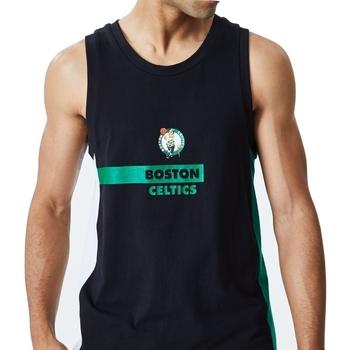 Υφασμάτινα Άνδρας Αμάνικα / T-shirts χωρίς μανίκια New-Era Nba Boston Μαύρος
