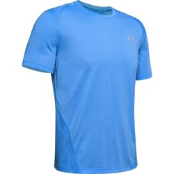 Υφασμάτινα Άνδρας T-shirt με κοντά μανίκια Under Armour Streaker 2.0 Μπλε