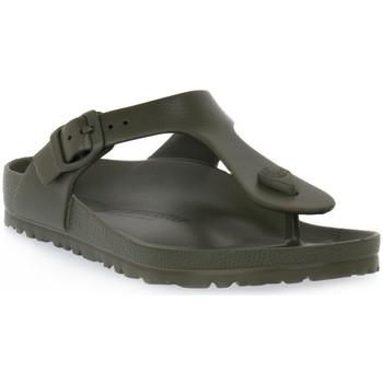 Παπούτσια Γυναίκα Σαγιονάρες Birkenstock GIZEH EVA KHAKI CALZ N Verde