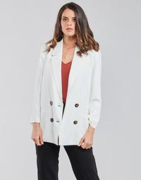 Υφασμάτινα Γυναίκα Σακάκι / Blazers Betty London OBINA Άσπρο