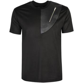 Υφασμάτινα Άνδρας T-shirt με κοντά μανίκια Les Hommes  Black