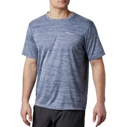 Υφασμάτινα Άνδρας T-shirt με κοντά μανίκια Columbia Zero Rules Short Sleeve Shirt Bleu