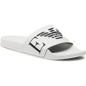Παπούτσια Άνδρας σαγιονάρες Emporio Armani X4PS06 XM760 White black