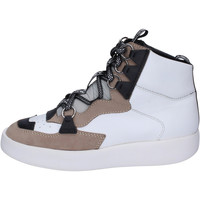 Παπούτσια Γυναίκα Ψηλά Sneakers My Grey Mer BJ745 λευκό
