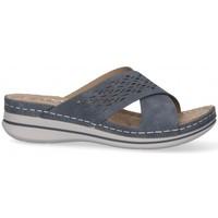 Παπούτσια Γυναίκα Τσόκαρα Etika 52659 μπλέ