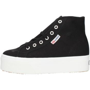 Παπούτσια Γυναίκα Ψηλά Sneakers Superga 2705HITTOP Black