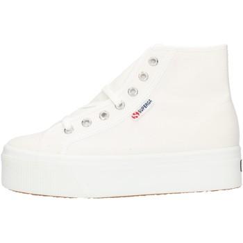 Παπούτσια Γυναίκα Ψηλά Sneakers Superga 2705HITTOP White