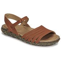Παπούτσια Γυναίκα Σανδάλια / Πέδιλα El Naturalista SOFT Brown