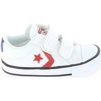 Παπούτσια Παιδί Χαμηλά Sneakers Converse Star Player 2V BB Blanc Rouge Άσπρο