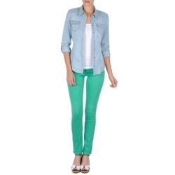 Υφασμάτινα Γυναίκα Παντελόνια Πεντάτσεπα Cimarron CASSIS Green