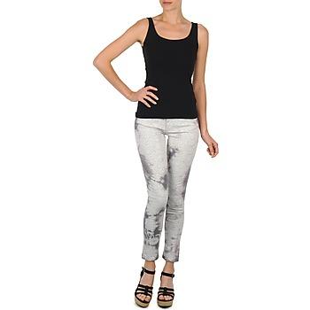 Υφασμάτινα Γυναίκα Κοντά παντελόνια Cimarron CLARA TIE DYE PYTHON Grey