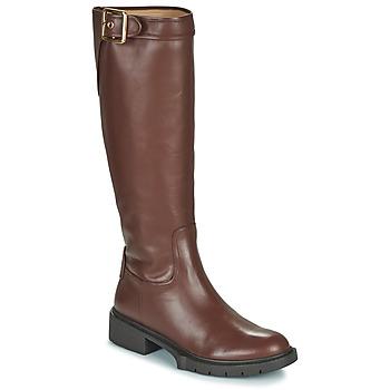 Παπούτσια Γυναίκα Μπότες για την πόλη Coach LEIGH Cognac