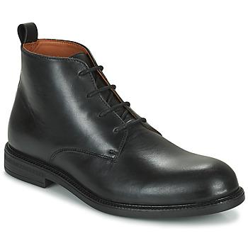 Παπούτσια Άνδρας Μπότες Pellet BAPTISTE Black