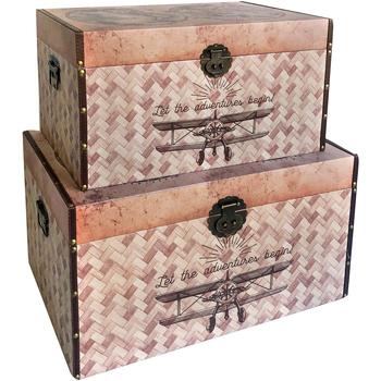 Σπίτι Κουτιά αποθήκευσης Signes Grimalt Κιβώτια 2 Σεπτεμβρίου World Σεπτέμβριο 2U Marrón