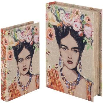Σπίτι Κουτιά αποθήκευσης Signes Grimalt Βιβλίο Κουτιά Set Της 2Ας Σεπτεμβρίου 2U Naranja