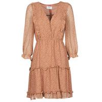 Υφασμάτινα Γυναίκα Κοντά Φορέματα Betty London OBELLA Rouille