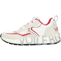 Παπούτσια Άνδρας Χαμηλά Sneakers Voile Blanche 001201592601 White and red