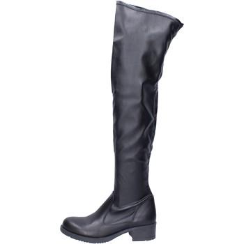Παπούτσια Γυναίκα Ψηλές μπότες Liu Jo BJ799 Μαύρος