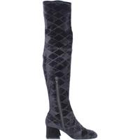 Παπούτσια Γυναίκα Ψηλές μπότες Apepazza BJ801 Μαύρος