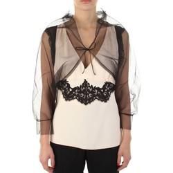 Υφασμάτινα Γυναίκα Αμάνικα / T-shirts χωρίς μανίκια Anna Molinari 24222 Nero