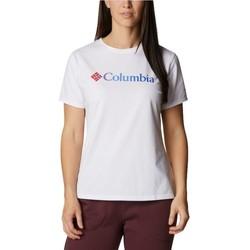 Υφασμάτινα Γυναίκα T-shirt με κοντά μανίκια Columbia Sun Trek W Graphic Tee Blanc