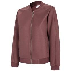Υφασμάτινα Γυναίκα Σπορ Ζακέτες 4F Women's Sweatshirt Bordeaux