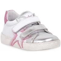 Παπούτσια Κορίτσι Χαμηλά Sneakers Grunland ARGENTO 88NOON Grigio