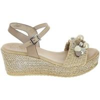Παπούτσια Γυναίκα Σανδάλια / Πέδιλα Porronet Sandale F12646 Taupe Grey