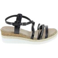 Παπούτσια Γυναίκα Σανδάλια / Πέδιλα Porronet Sandale F12632 Noir Black