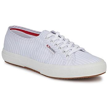 Παπούτσια Χαμηλά Sneakers Superga 2750 COTUSHIRT άσπρο / μπλέ