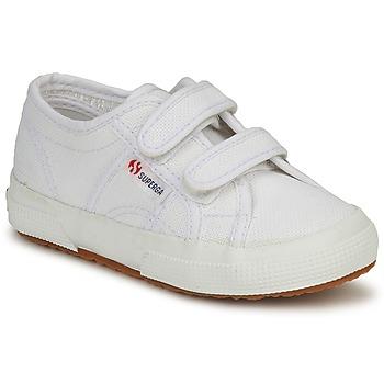 Παπούτσια Παιδί Χαμηλά Sneakers Superga 2750 STRAP Άσπρο