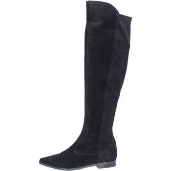 Παπούτσια Γυναίκα Ψηλές μπότες Carmens Padova Μπότες BJ811 Μαύρος