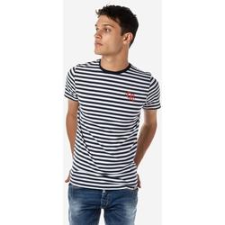 Υφασμάτινα Άνδρας T-shirts & Μπλούζες Brokers ΑΝΔΡΙΚΟ T-SHIRT MARINE