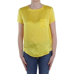 Υφασμάτινα Γυναίκα Μπλούζες Manila Grace C335SU Yellow