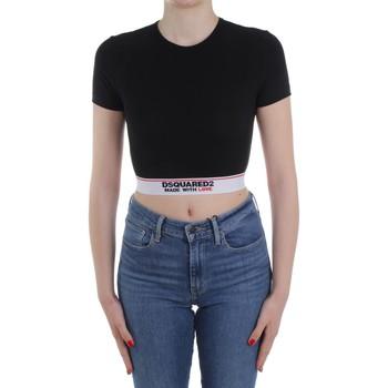 Υφασμάτινα Γυναίκα Πουλόβερ Dsquared2 Underwear D8M263470 Black