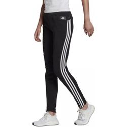 Υφασμάτινα Γυναίκα Φόρμες adidas Originals Sportswear 3-Stripes Skinny Pants Μαύρος
