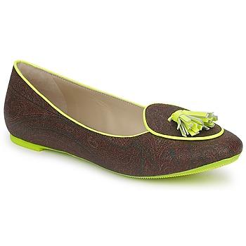 Παπούτσια Γυναίκα Μπαλαρίνες Etro BALLERINE 3738 Brown / Citron
