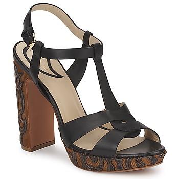 Παπούτσια Γυναίκα Σανδάλια / Πέδιλα Etro NU-PIEDS 3763 Black