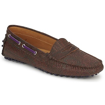 Παπούτσια Γυναίκα Μοκασσίνια Etro MOCASSIN 3706 Violet