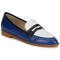 Παπούτσια Γυναίκα Μοκασσίνια Etro MOCASSIN 3767 Μπλέ / Black / Άσπρο