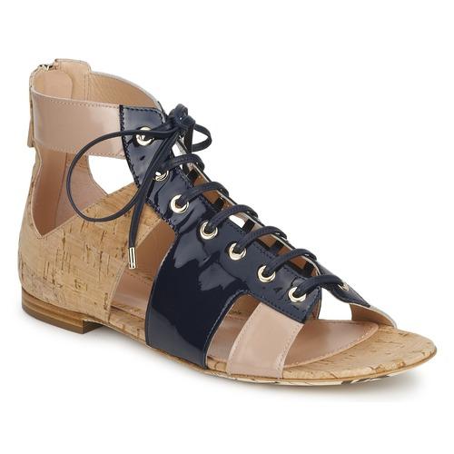 Παπούτσια Γυναίκα Σανδάλια / Πέδιλα John Galliano AN6379 Μπλέ / Beige / Ροζ