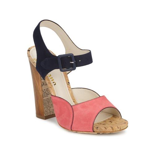 Παπούτσια Γυναίκα Σανδάλια / Πέδιλα John Galliano AN3571 Ροζ / Marine