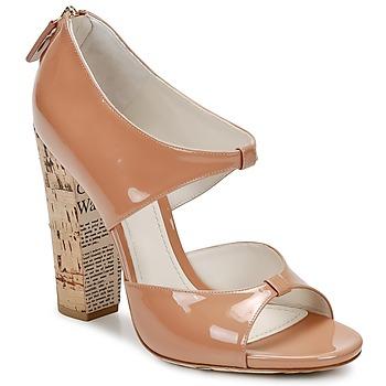 Παπούτσια Γυναίκα Σανδάλια / Πέδιλα John Galliano AN6364 Ροζ / Beige