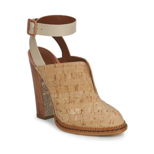 Παπούτσια Γυναίκα Σαμπό John Galliano AN9211 Beige