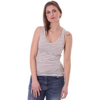 Υφασμάτινα Γυναίκα Αμάνικα / T-shirts χωρίς μανίκια Vicolo FK0013 Γκρί