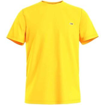 Υφασμάτινα Άνδρας T-shirt με κοντά μανίκια Tommy Jeans DM0DM10101 Κίτρινος
