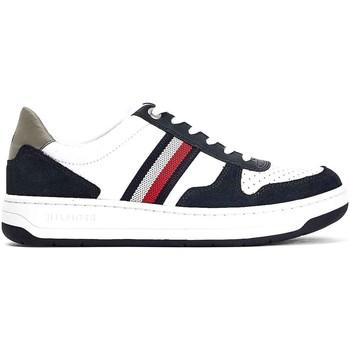 Παπούτσια Άνδρας Χαμηλά Sneakers Tommy Hilfiger FM0FM03433 λευκό
