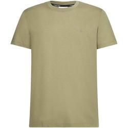 Υφασμάτινα Άνδρας T-shirt με κοντά μανίκια Calvin Klein Jeans K10K107088 Πράσινος