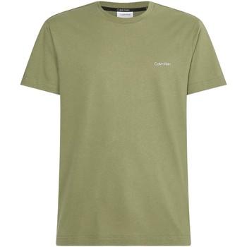 Υφασμάτινα Άνδρας T-shirt με κοντά μανίκια Calvin Klein Jeans K10K103307 Πράσινος